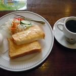 ワールドコーヒー - 「モーニングAset」470円