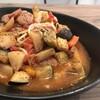 モンスターファクトリー - 料理写真:彩野菜のスープパスタ
