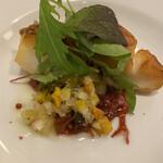 Bisutoroishikawatei - ★主菜 メヌケのポワレ 彩り野菜のラヴィゴットソース