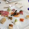 カステッロ - 料理写真:12種類の前菜の盛り合わせ どれから食べましょう〜。フォークはどこへ〜