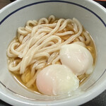 おにやんま - ぶっかけ 温泉卵ダブル(ネギ抜き)¥490-