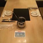 天香回味 - お席を定期的に消毒・清掃