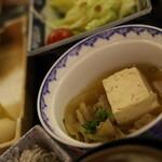 三養荘 - 朝食 肉豆腐