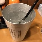 ラーメン横浜家 - 角ハイボール300円