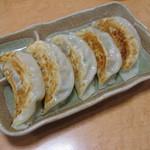 西安刀削麺 - 焼き餃子(通常5個:350円)
