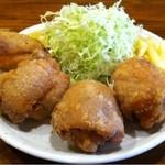 湘南BBQ - 唐揚げ定食(唐揚げ一個増量)