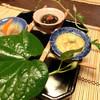銀座 - 料理写真:朝顔を模した前菜