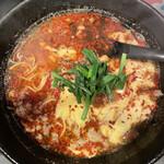 北崎商店 - 醤油辛麺 12辛 中華麺