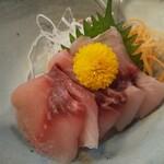 お食事処 やまへい - 熟成鯉のお造り♪