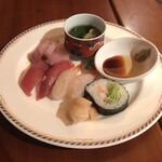 ガーデンビュッフェ パインテラス - 寿司・刺身など