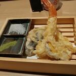 鮨 酒 肴 杉玉 - 天ぷら盛り