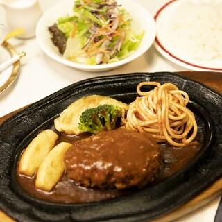 豪華な定食メニューからお手頃な定食まで。充実のラインナップ。