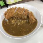 松家カレー - かつカレー