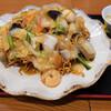 中華料理 華宴 - 料理写真:五目バリそば+本日スープ