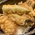 牡蠣屋うらら - 天ぷら達アップ