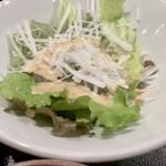 牡蠣屋うらら - サラダ