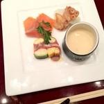 鉄板 - ランチ 前菜