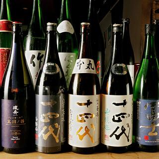 日本酒からワインまで銘酒を豊富に取り揃えました