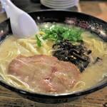 琉球新麺 通堂 - 料理写真:おとこ味ミニラーメン