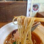 らーめん HANABI - 麺リフト(失敗)