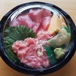 味のデパート MARUKAMI - 【テイクアウト】ネギトロ鉄火丼