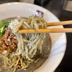 餃子と担々麺 吟 - 特製黒胡麻坦々麺 アップ