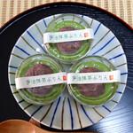 東山茶寮 - 宇治抹茶プリン(3個 1,296円)