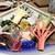 サバの駅 - 料理写真:づけ刺身3種盛り