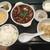 百香亭 - 料理写真:麻婆豆腐定食(¥780)
