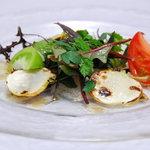 オーベルジュ チェリーテラス - 料理写真:平目のカルパッチョ
