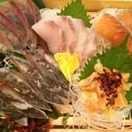 三田商店 - 三田商店・一周年記念 ¥500刺し盛り