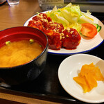 金の釜 徳衛門 - 味噌汁