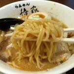 らぁめん椿家 - 麺