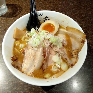 らぁめん椿家 - 料理写真:こってりちゃーしゅうめん味噌