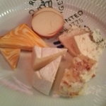 カルボナード - チーズ盛り合わせ(小・5種類)@1260