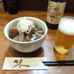 杉作 - 煮込みとビール