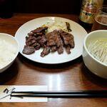 杉作 - 牛たん定食大盛