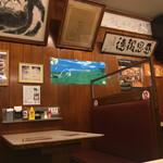 ジャッキー ステーキハウス - 店内 ( ´θ`)