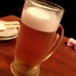 toukyousakebaruambai - 生ビール