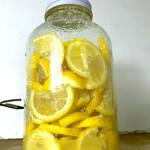 ラーメン居酒屋 鮫鱈鯉 - 自家製塩レモン