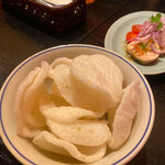 Restaurant RIVE GAUCHE - 大好きなベトナム海老せんべい♡永遠に食べたい♡