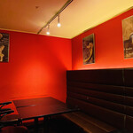 Restaurant RIVE GAUCHE - 赤✖️黒のスタイリッシュな店内☆彡