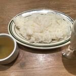 World Beer Kitchen GLOBAR - おかわり自由のライスとスープ(2020.11.17)