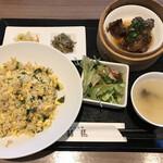 口福吉祥 喜喜龍 - 週替り炒飯セット(1,070円)