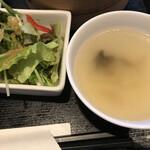 口福吉祥 喜喜龍 - スープとサラダ