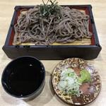 多宝亭 - 料理写真:ざるそば ¥500(税抜)