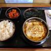 一平ちゃん - 料理写真:クッパ定食 トッピング チーズ、肉増し