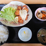 道の駅 北川はゆま - チキン南蛮定食980円