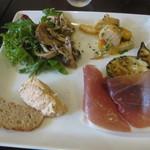トレ プンティーニ - 1500円コースの前菜盛り合わせ