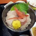 佐吉 - <2012/08/09>ミニ海鮮丼